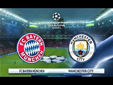 Bayern Munchen vs Manchester City | UEFA Champions League 2018 | PES 2018 Gameplay HD