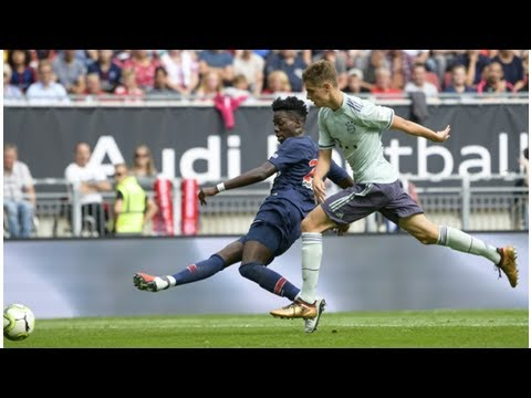 Bayern dominate PSG in pre-season friendly