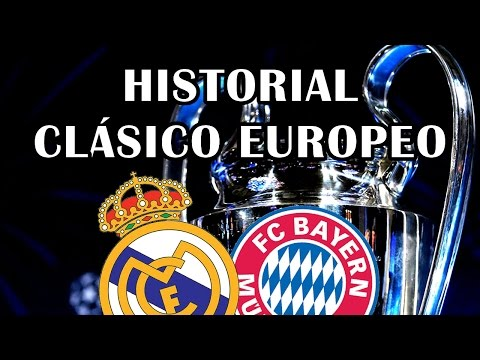 REAL MADRID VS BAYERN MUNICH | HISTORIAL EN CHAMPIONS LEAGUE
