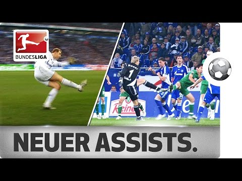 Manuel Neuer – All Assists from Bayern's Star Goalkeeper