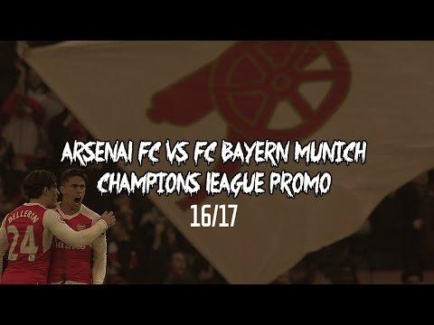 Arsenal FC vs FC Bayern Munich – Champions League Promo (2016/17)