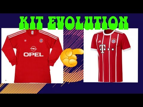 FC BAYERN MÜNCHEN KIT EVOLUTION !