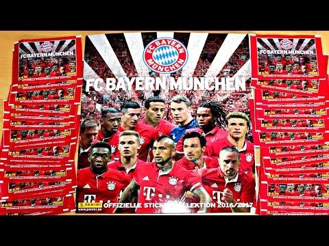 KOMPLETTES DISPLAY! Panini FC Bayern München Sticker 2016/17 | NEU!!