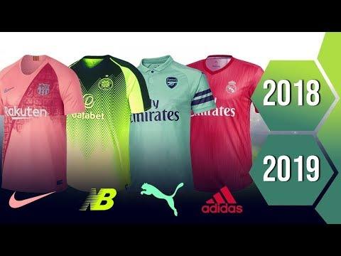 Third Kits Of The Biggest Clubs II 2018 – 19 II