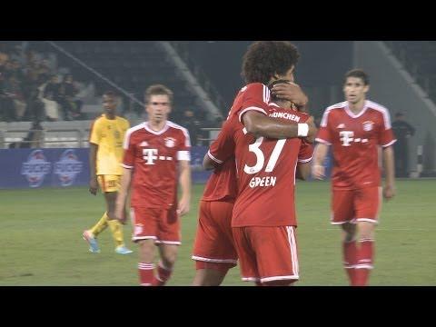 FC Bayern gegen Al Merrikh SC – Münchner gewinnen erstes Spiel 2014  – Alle Highlights