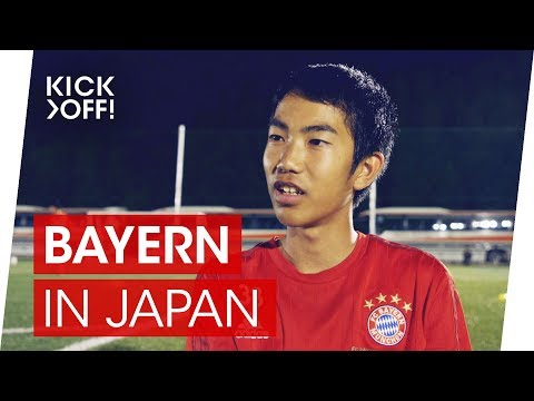 Kick it like Kanata | FC Bayern support japanese football school