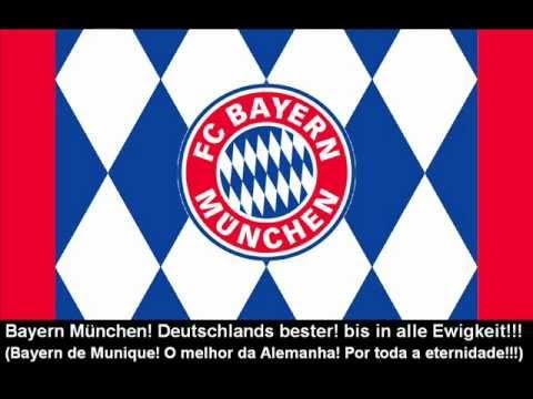 Hymne Fußball-Club Bayern München (Lyrics) – Hino do Bayern de Munique (letra)