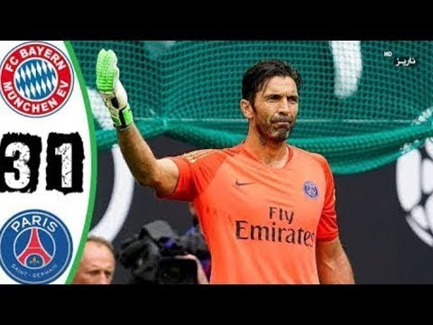 Bayern München vs PSG 3-1 | Highlights & Goals |  21/7/2018