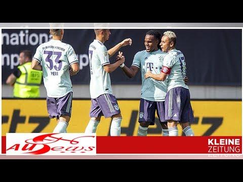 Bayern – PSG 3:1: Bayern besiegt PSG in Klagenfurt