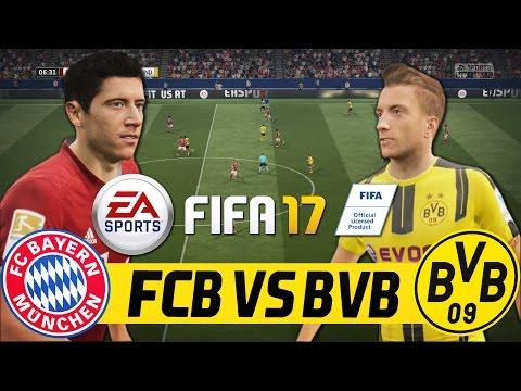 FIFA 17 FULL GAMEPLAY – BORUSSIA DORTMUND VS FC BAYERN MÜNCHEN