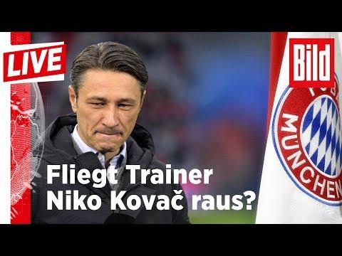 🔴 BILD Live: Bayern in der Krise: Fliegt Trainer Niko Kovac raus?