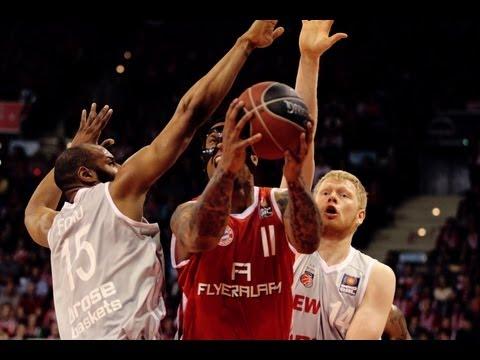Playoff-Halbfinale Spiel 4: FC Bayern München – Brose Baskets (80:71)