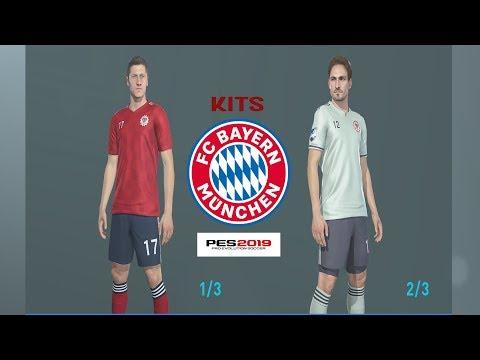 FC BAYERN MUNCHEN KITS PES 2019 XBOX ONE