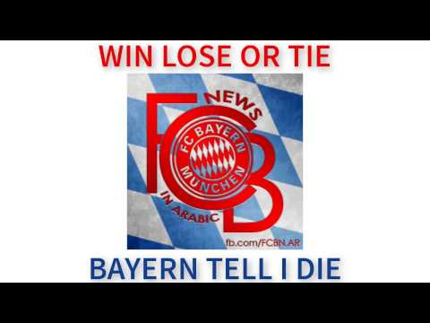 FC BAYERN FOR EVER NUMBER ONE with lyrics