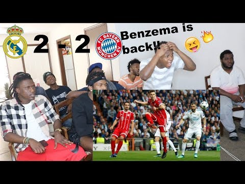 REAL MADRID VS  BAYERN MUNICH 2-2   ALL GOAL & HIGHLIGHTS REACTION! BENZEMA GOAL AGAINST BAYERN