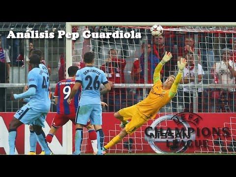 Bayern Munich vs Manchester City 1-0 Champions League 17-09-2014 | Análisis Pep Guardiola