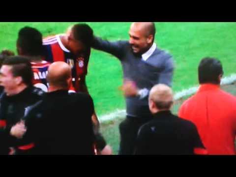 Boateng last Minute Bayern gegen man. City