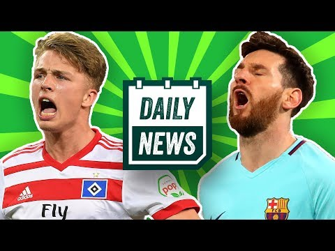 Champions League: FC Bayern, AS Rom, Klopp! Arp verlässt HSV? Neymar vs. Cavani! Daily News