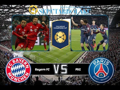 International Champions Cup: Bayern Munich vs PSG – LIVE 2018