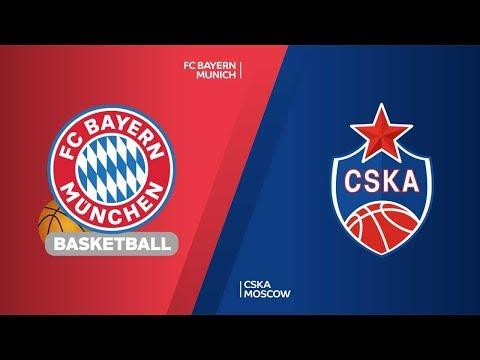 FC Bayern Munich – CSKA Moscow Highlights | Turkish Airlines EuroLeague RS Round 7