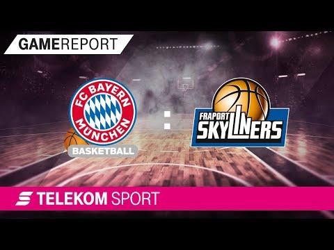 FC Bayern München – FRAPORT Skyliners | Viertelfinale, Spiel 3, 17/18 | Telekom Sport