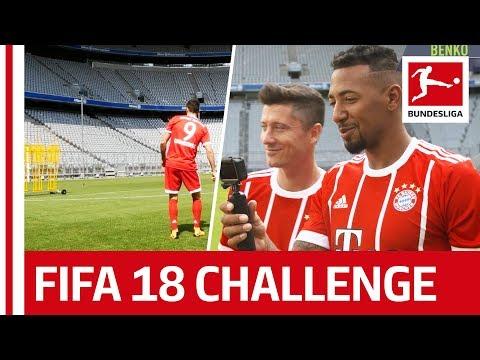 Boateng, Lewandowski & Video Assistant – EA Sports FIFA 18 Bundesliga Free Kick ChallengeSpecial