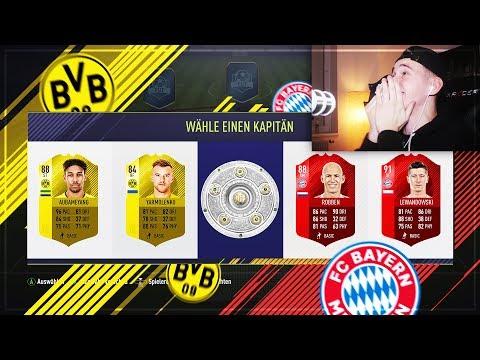 OMG! Borussia Dortmund vs. FC Bayern München ⛔️⚽️ – FIFA 18 FUT Draft Challenge