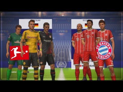 KANN DER REST DER BUNDESLIGA DEN FC BAYERN SCHLAGEN!?? 🏆💥🤔 – FIFA 18 Experiment #13
