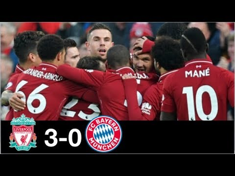 Liverpool vs Bayern Munich 3-0 All Goals and Highlights Full Matches