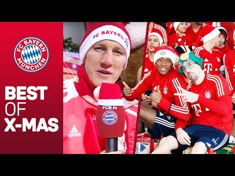 FC Bayern's Christmas Video's from 2018 – 2008 | 10 Years of FCB Christmas