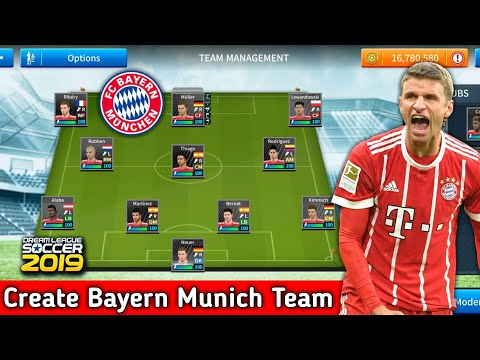 How To Create Bayern Munich Team In Dream League Soccer 2019   Android [No Root & No Mod Apk]