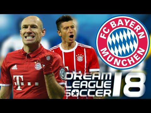 Dream League Soccer 2018 BAYERN MUNİCH YAMASİ 2018 !!!