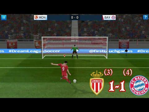 As Monaco vs Bayern Munich – Dream league soccer 2018 – Android/IOS gameplay #06
