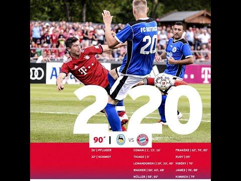 Bayern München 20 -2 Vs FC Rottach-Eger