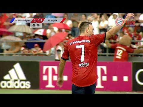 Franck Ribery vs FC Rottach-Egern (Pre-Season) Friendly 18-19 HD 1080p