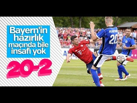 Bayern Munich 20-2  FC Rottach-egern   HD  -ÖZET-