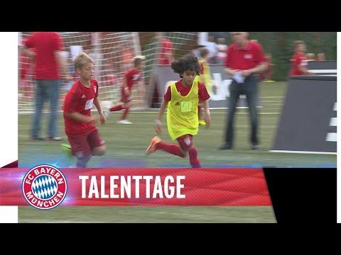 Talenttage beim FC Bayern