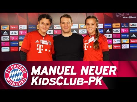 """I wanted to play outfield"" – Manuel Neuer answers FC Bayern KidsClub questions 🗣️👦👧"