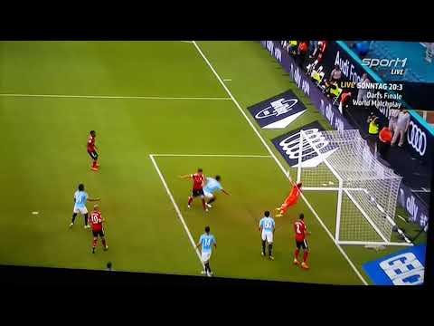 Meriton Shabani Goal. FC BAYERN MÜNCHEN vs Manchester City