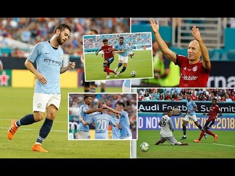 Breaking News –  Bayern Munich 2-3 Manchester City: Riyad Mahrez suffers injury