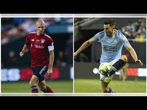 Bayern Munich vs Man City LIVE