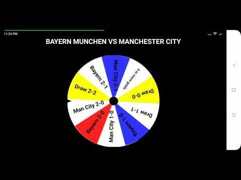 Bayern Munchen vs Man City: The Wheel's prediction for ICC 2018