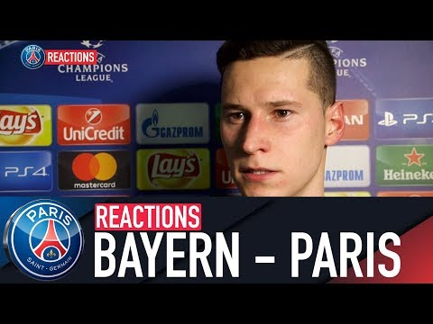 REACTIONS : FC BAYERN MUNICH – PARIS SAINT-GERMAIN
