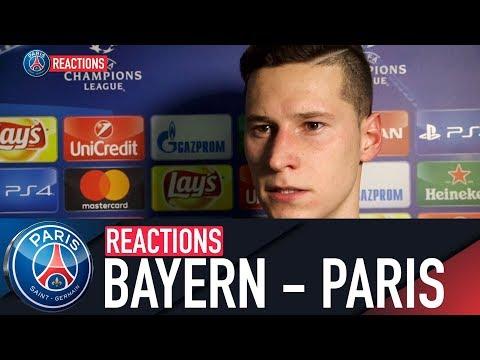 REACTIONS : FC BAYERN MUNICH – PARIS SAINT-GERMAIN