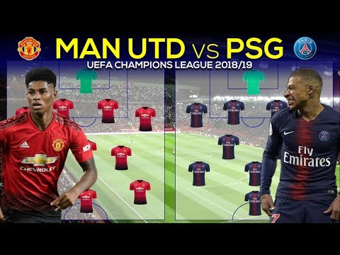 MANCHESTER UNITED vs PARIS SAINT-GERMAIN: Preview and Predicted lineup