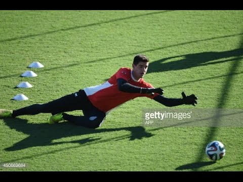 Goalkeeper training – Thibaut Courtois training (  Chelsea and the Belgium national team)