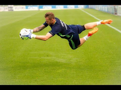 FC Schalke 04 Goalkeepers Training