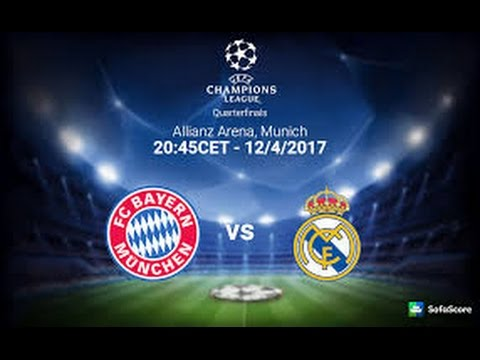 Watch live fc bayer munich vs real madrid 12/4/2017 مشاهدة مباراة البايرن وريال مدريد