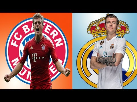 5 Players Who played Both for  Real madrid and Bayern Munich