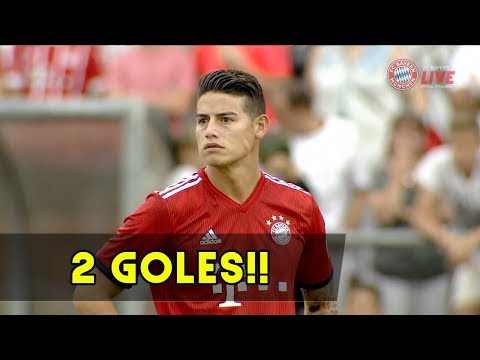 James Rodriguez vs FC Rottach Egern (Local) 08/08/2018 Resumen ⚽